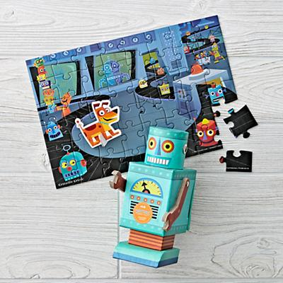 Robot Puzzle and Play (48 pc.)