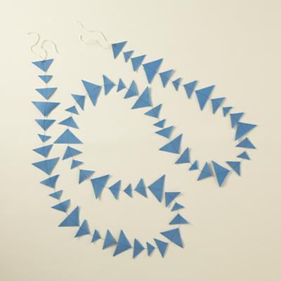 Lt. Blue Triangle Garland