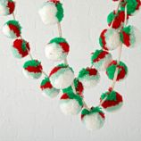 Mini Traditional Pom Pom Garland