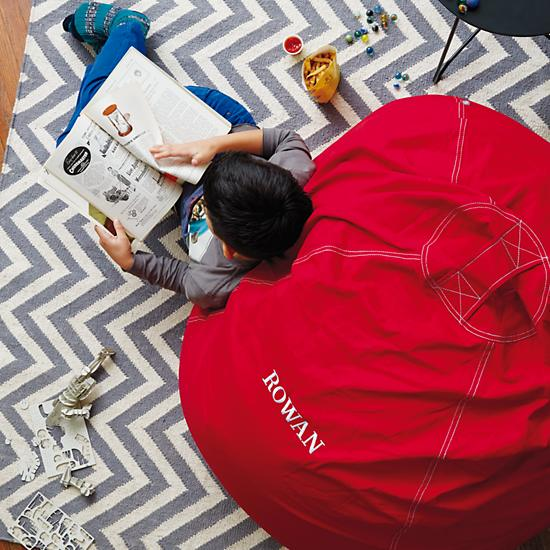40 Quot Ginormous Bean Bag Chair New Red The Land Of Nod