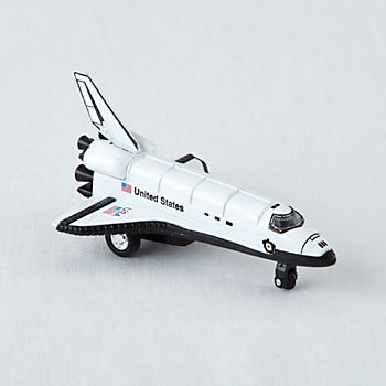 Pull Back Space Shuttle