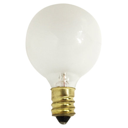 - 25w G12 1/2 Frosted Bulb