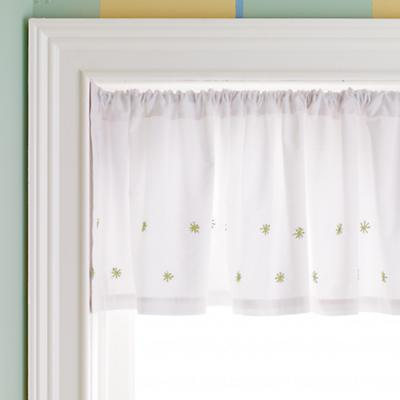 Star Window Valance (Green)