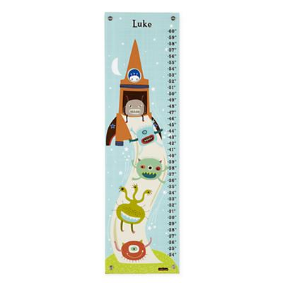 Personalized Alien Invasion Growth Chart
