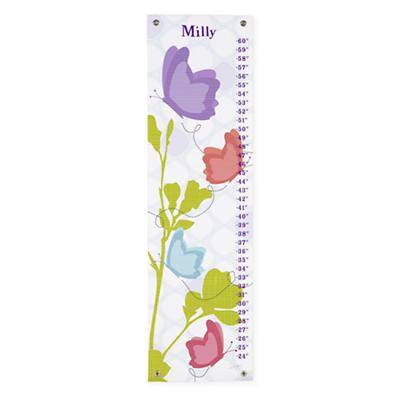 Personalized Garden Butterfly Growth Chart