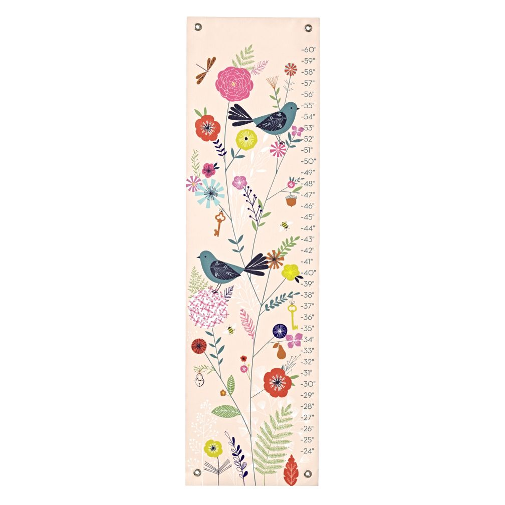 Birds and Blooms Growth Chart