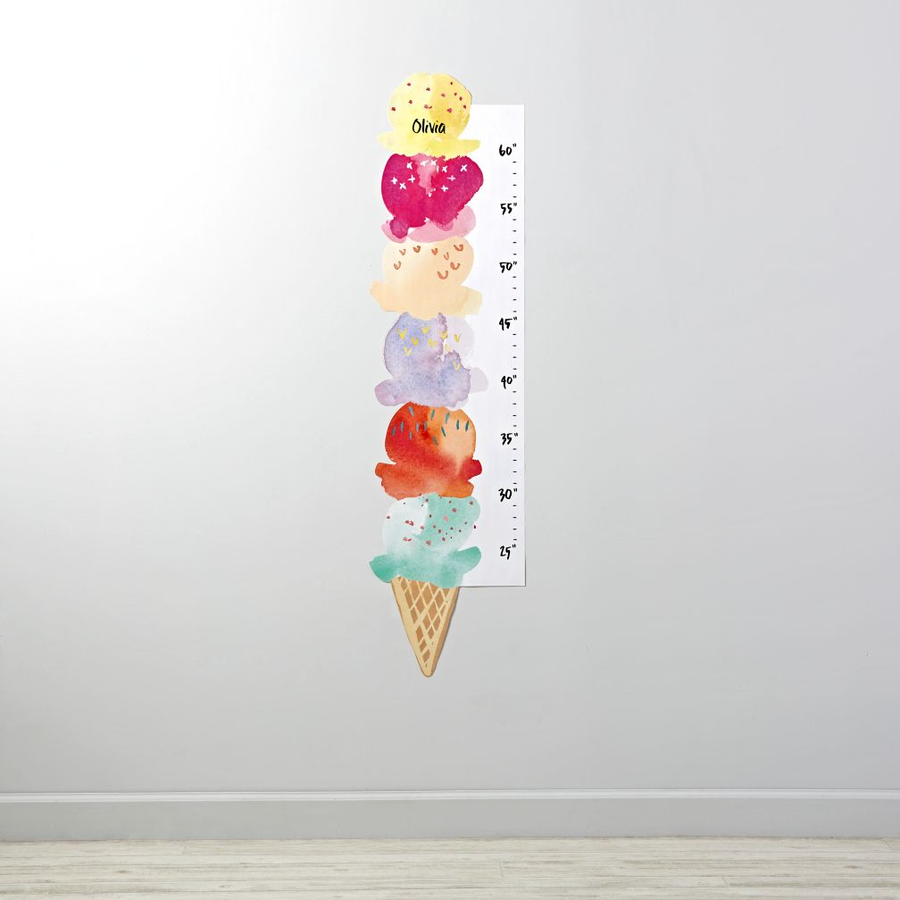 Ice Cream Decal Growth Chart