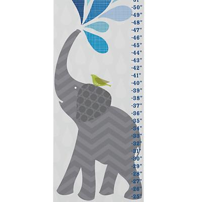 Personalized Elephant Splash Growth Chart