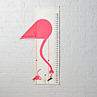 Flamingo Charley Harper Growth Chart