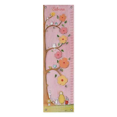 Personalized Flower Tree Growth Chart