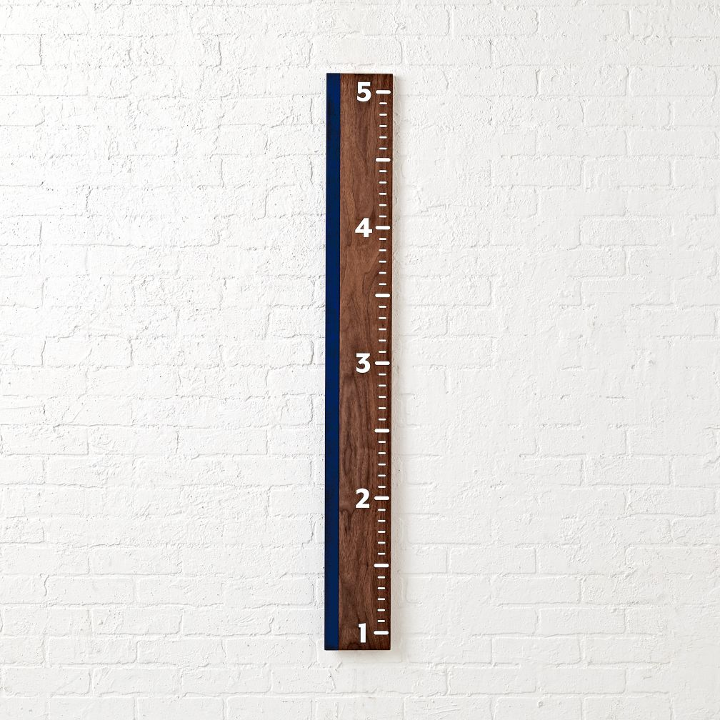 Inch On Up Blue Growth Chart