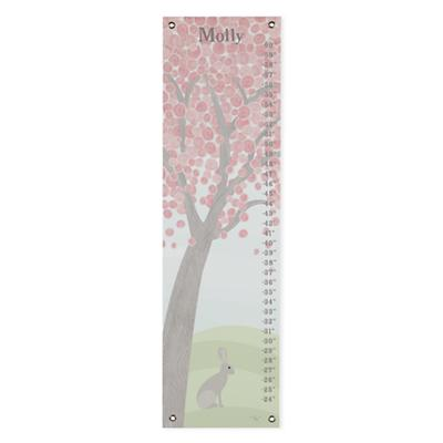 Personalized Pastel Tree Growth Chart
