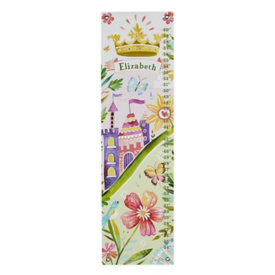 Personalized Nature Princess Growth Chart