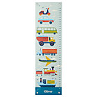 Personalized Transportation Growth Chart.