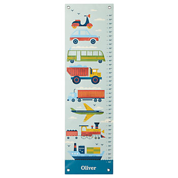 Personalized Transportation Growth Chart