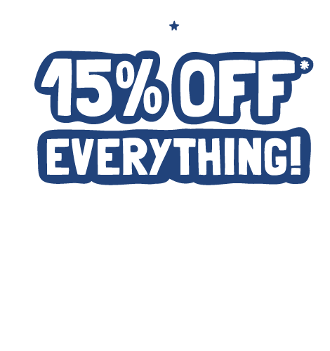 Memorial Day Weekend Sale. 15% off Everything! Restrictions apply.