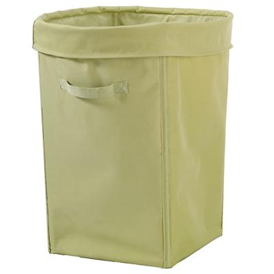 I Think I Canvas Hamper (Lt. Green)
