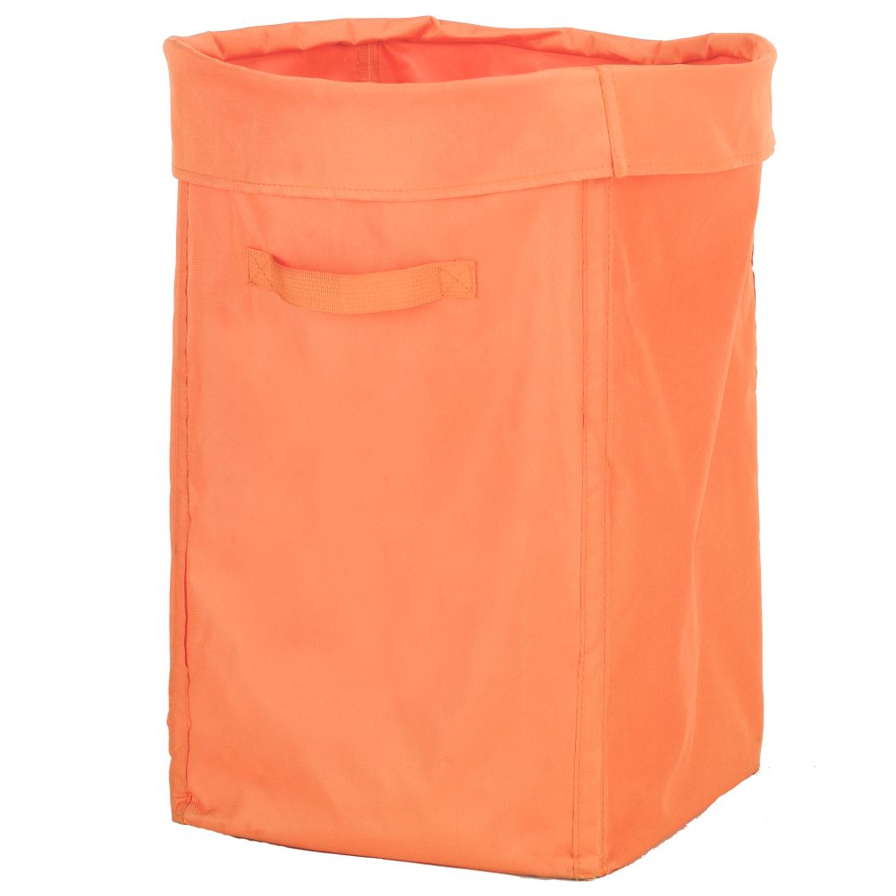 I Think I Canvas Orange Hamper