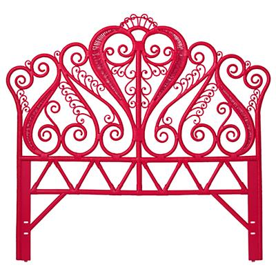 Full Aria Woven Headboard (Hot Pink)