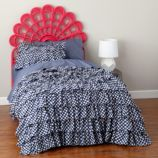 Princess Plume Woven Headboard (Hot Pink)