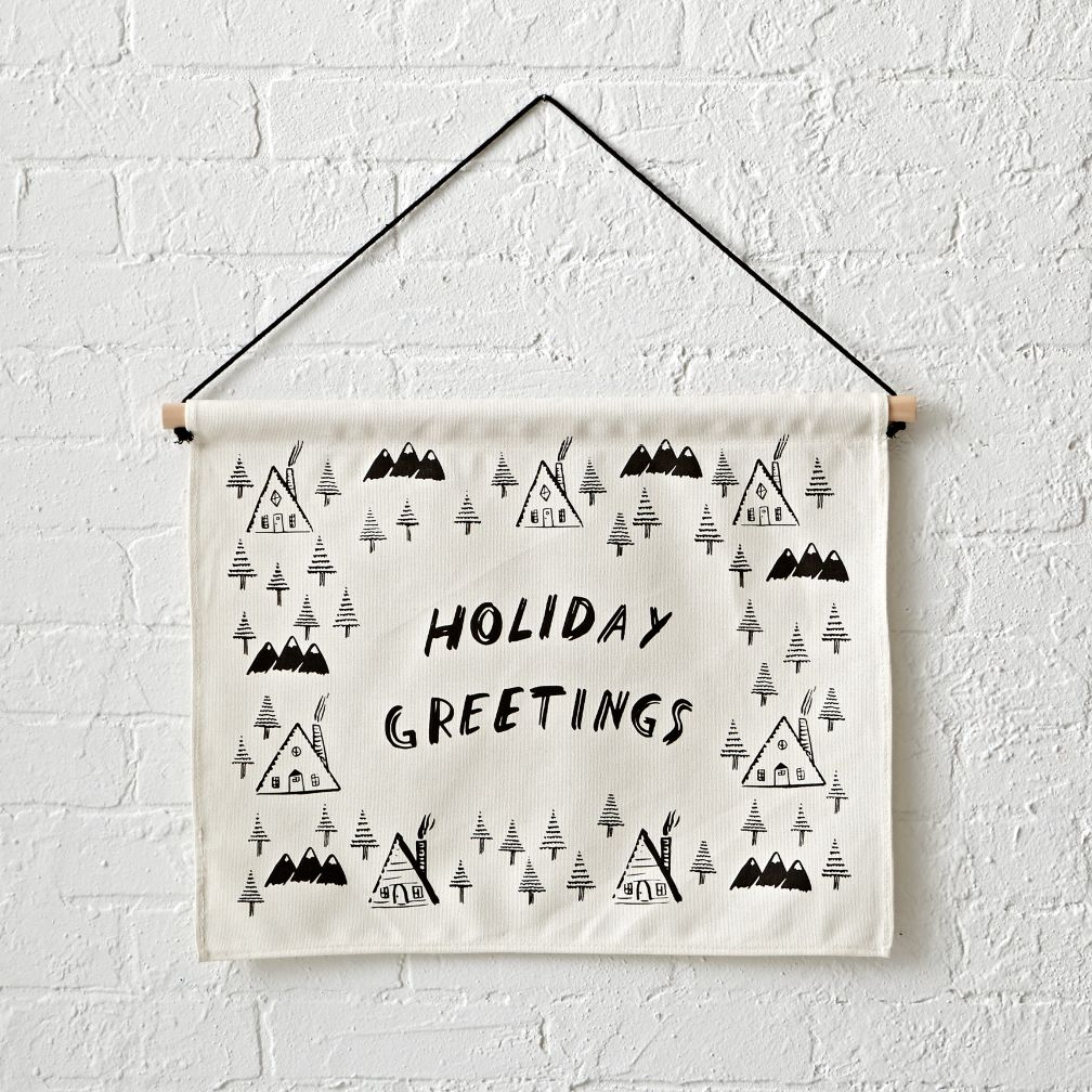 Holiday Greetings Banner