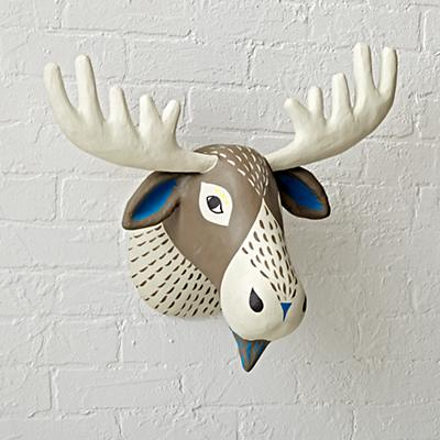 Charming Creatures Moose Head