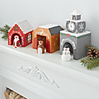 Holiday Village Decor (Set of 3)