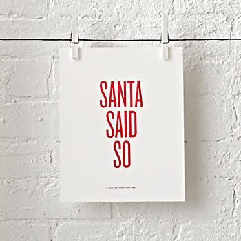 Read Between the Lines Holiday Print
