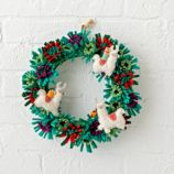 Alpaca Wreath