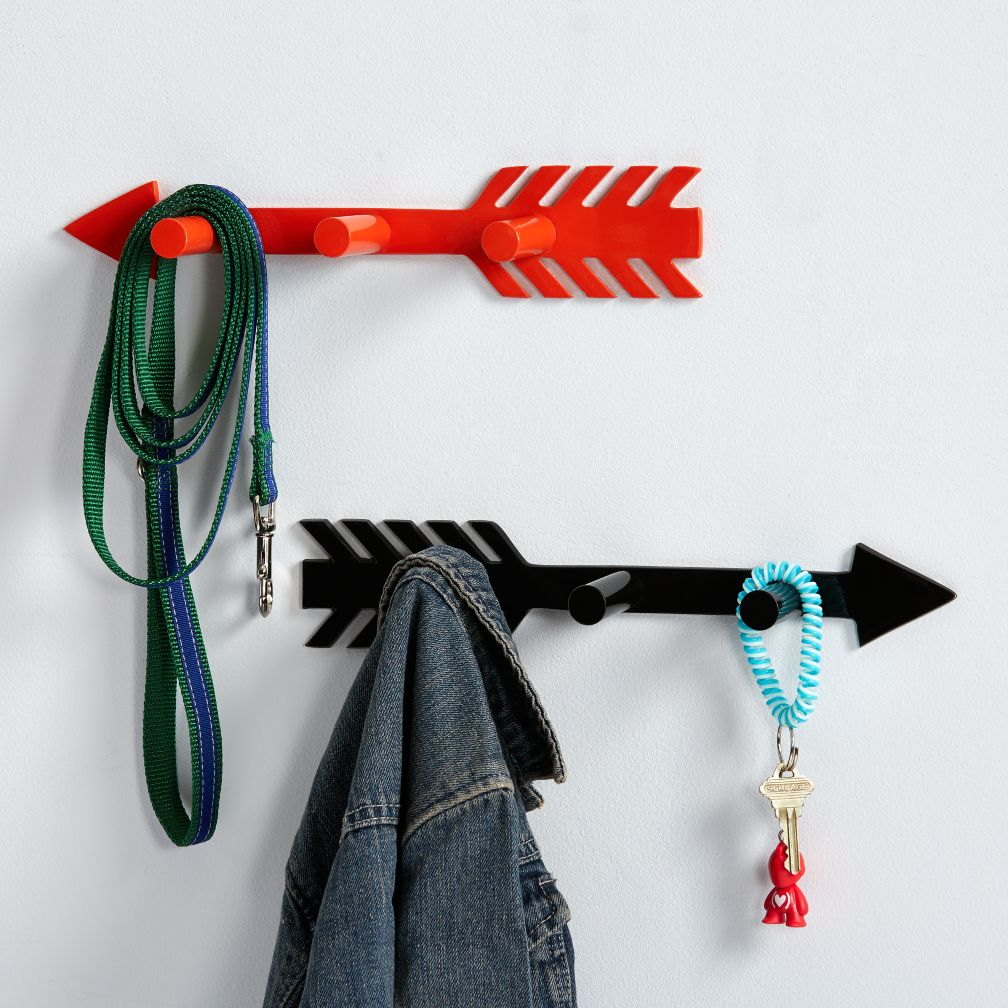 That-a-Way Arrow Wall Hook - Black That-a-Way Wall Hook
