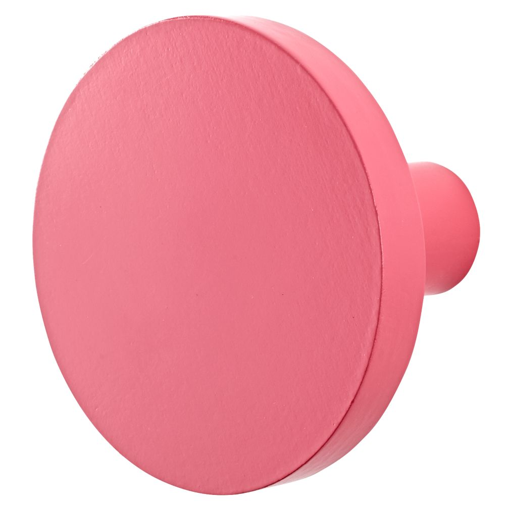 Can't Miss Wall Knob (Bright Pink)