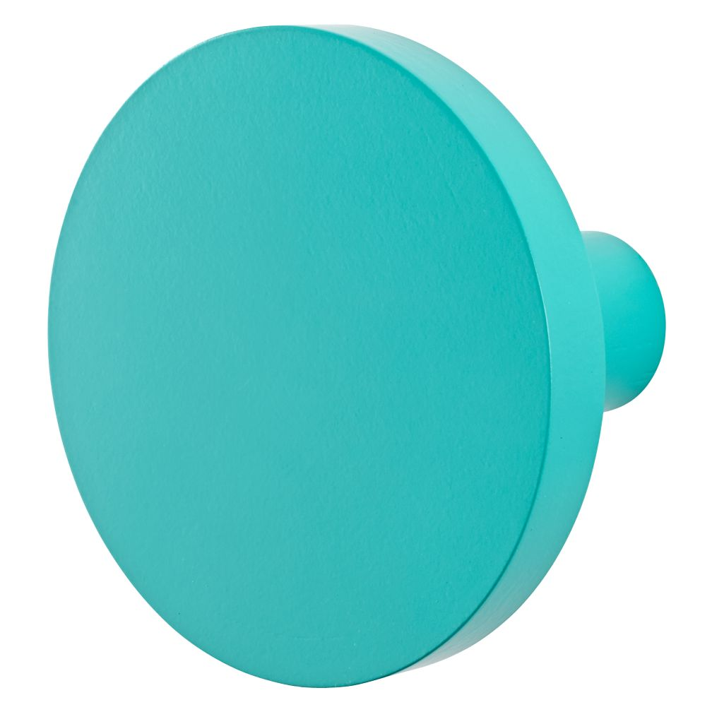 Can't Miss Wall Knob (Teal)