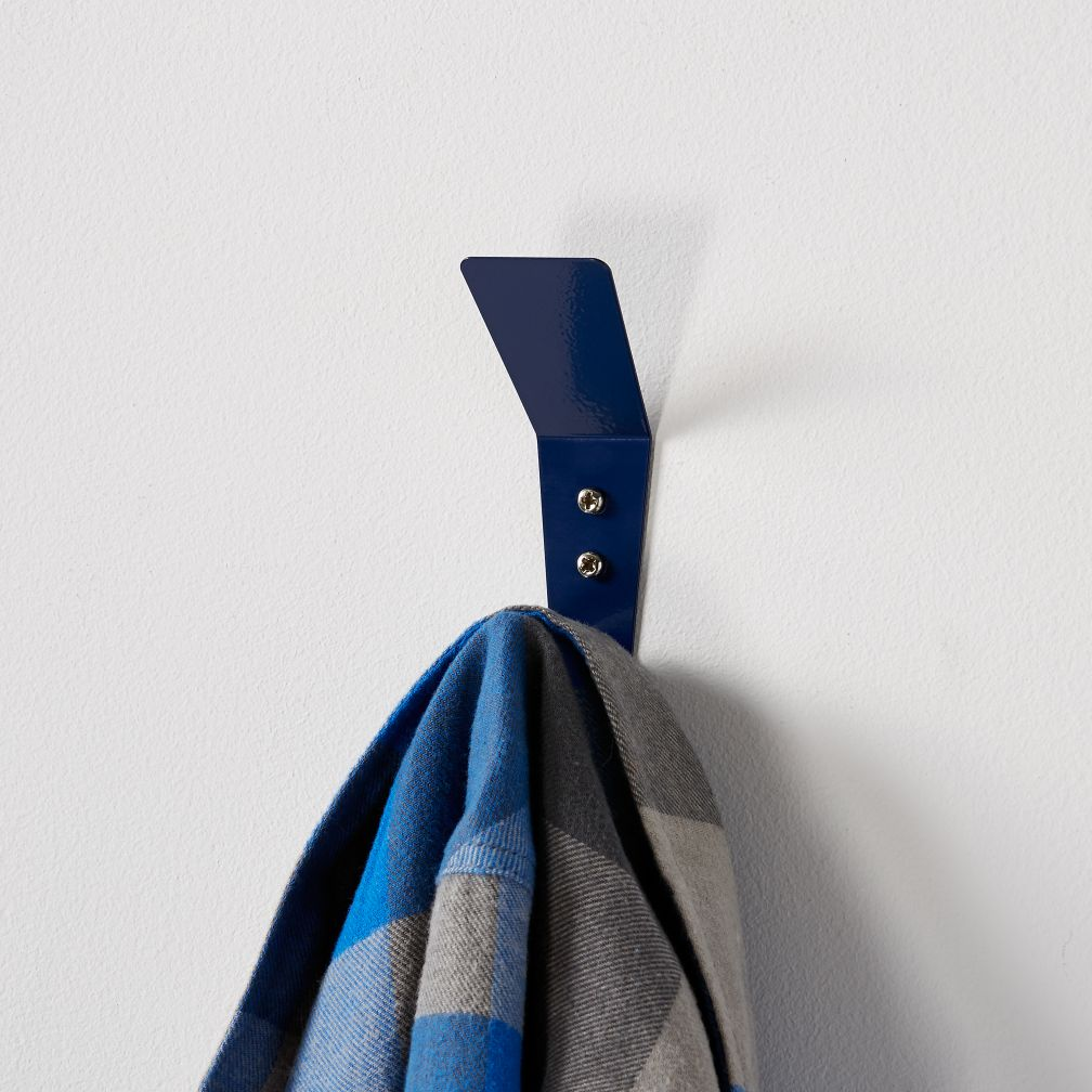 Every Which Way Wall Hook (Dk. Blue)