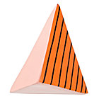 Pink & Orange Great Pyramid Wall Hook