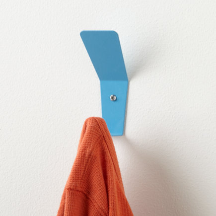 Kids Storage: Kids Wall Hook - Blue Every Which Way Wall Hook