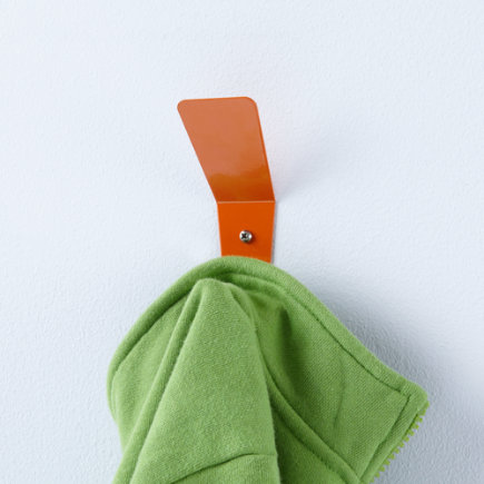 Kids Storage: Kids Wall Hook - Orange Every Which Way Wall Hook
