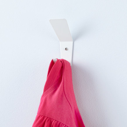 Kids Storage: Kids Wall Hook - White Every Which Way Wall Hook