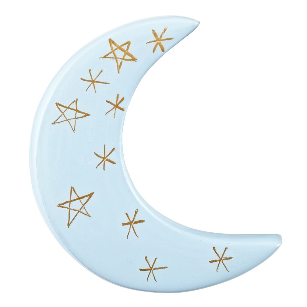 Weather Pattern Wall Hook (Moon)