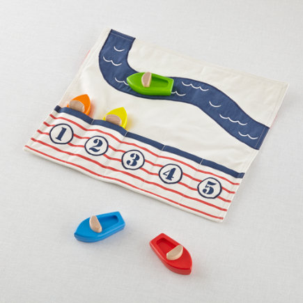 Boat Race Play Set - Set Boat Club on the Go Set