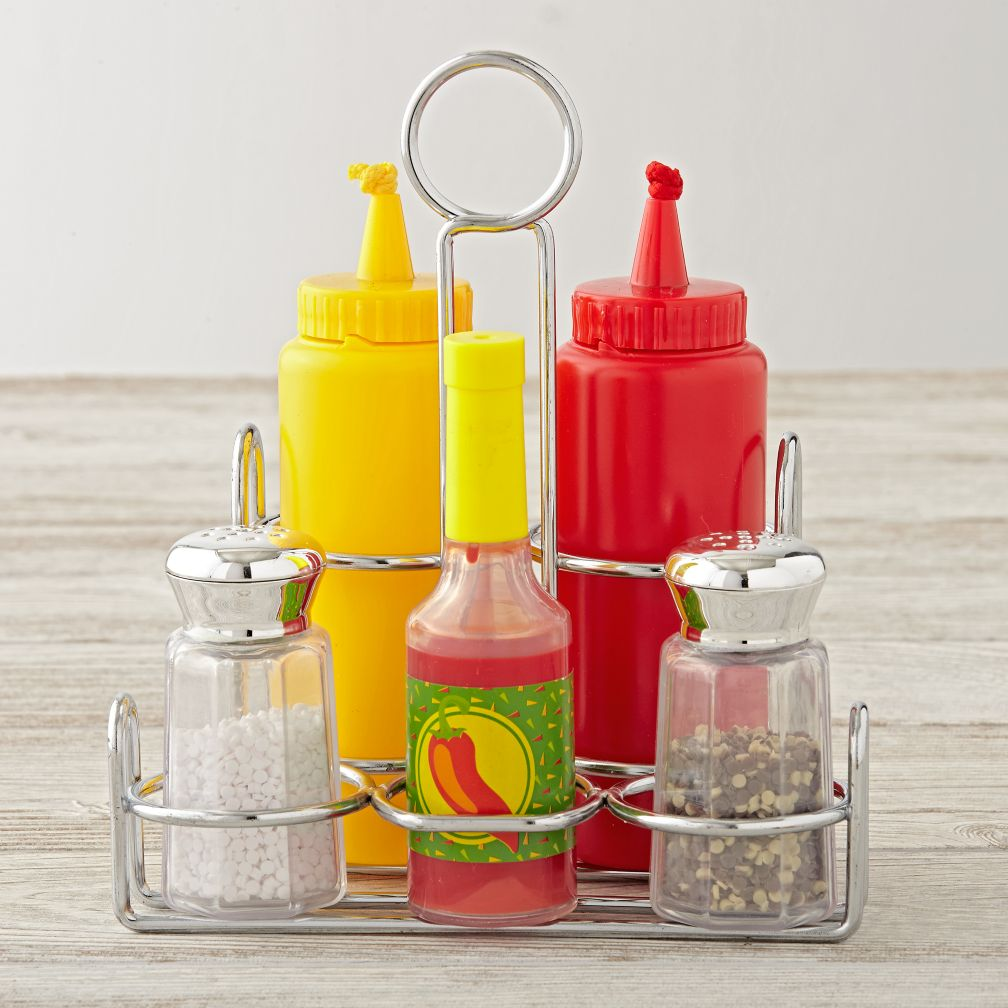 Condiments Set (Set of 6)