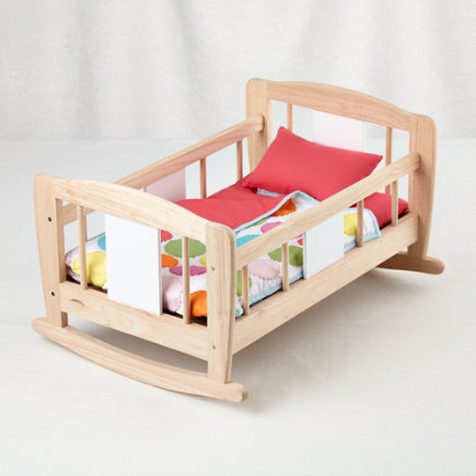 Doll Wooden Cradle