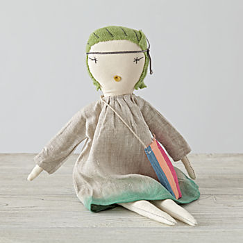 Jade Pixie Doll by Jess Brown