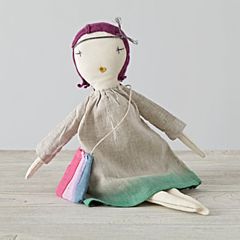 Rose Pixie Doll by Jess Brown