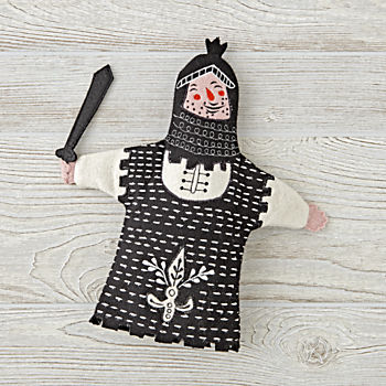 Medieval Knight Hand Puppet