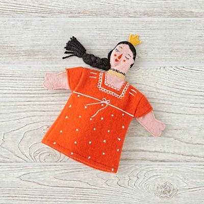 Medieval Princess Hand Puppet