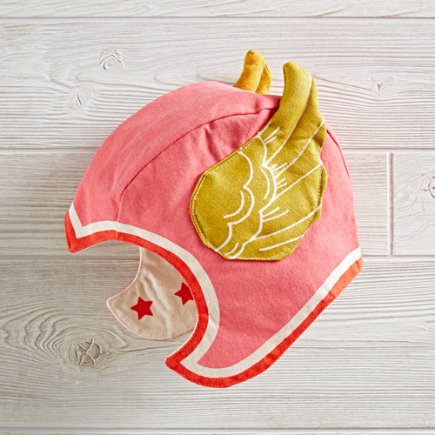 Lovelane Kids Dress Up Winged Hat (Pink) - Lovelane Pink S/M Winged Hat