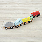 Metro Line Wooden Trains (Set of 5)