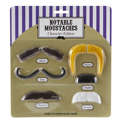 Character Moustache Set