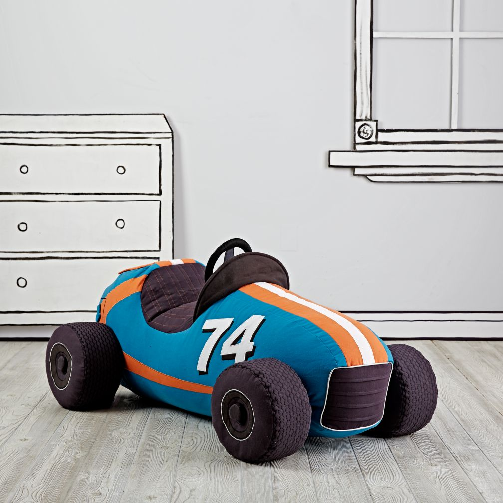 Grandest Prix Plush Speedster (Blue)