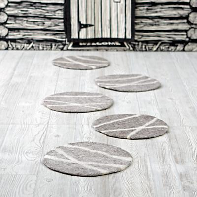 Set of 5 Stepping Stones